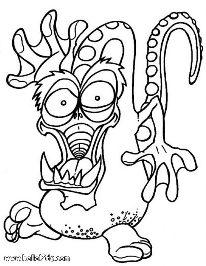 695x900 Printable Monster Coloring Pages Printable Monster Coloring Pages