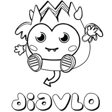 230x230 Top Free Printable Moshi Monsters Coloring Pages Online