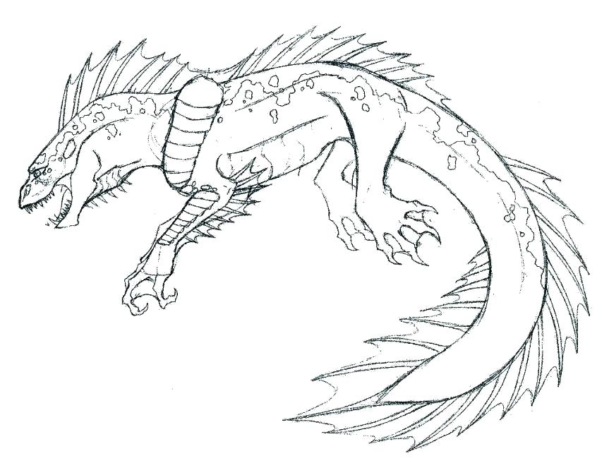 863x663 Free Monster Coloring Pages Printable Monsters Coloring Pages