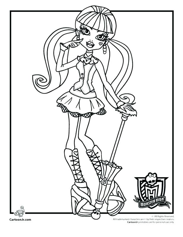 618x800 Baby Monster High Coloring Pages Free Printable Coloring Pages