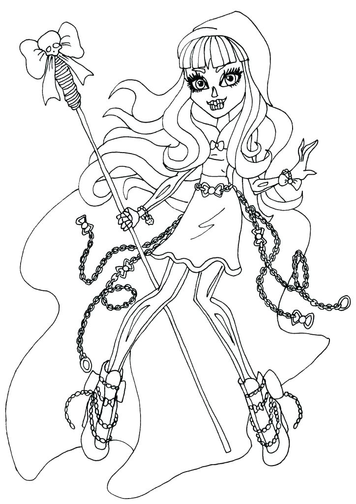 724x1024 Monster High Coloring Sheets Monster High Coloring Pages Printable