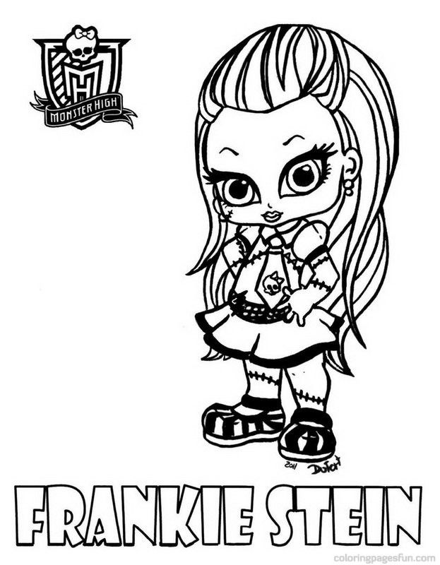 623x800 Monster High Coloring Pages To Print Monster High Coloring Pages