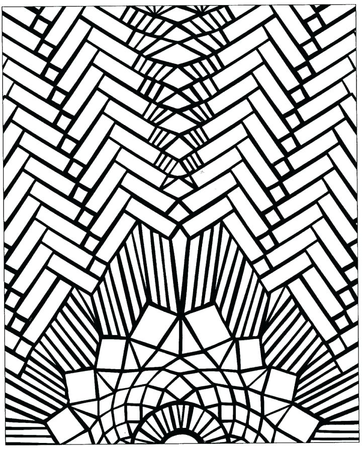 Free Printable Mosaic Coloring Pages At Getdrawings Com Free For