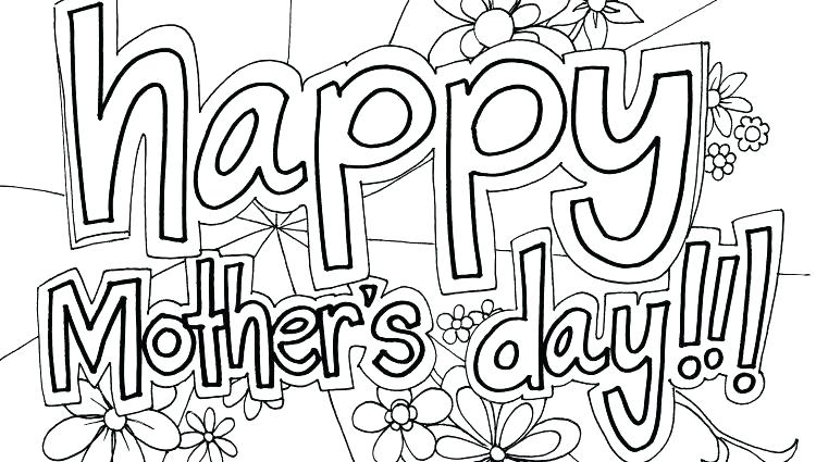 photo relating to Mothers Day Coloring Pages Free Printable titled Cost-free Printable Moms Working day Coloring Internet pages at