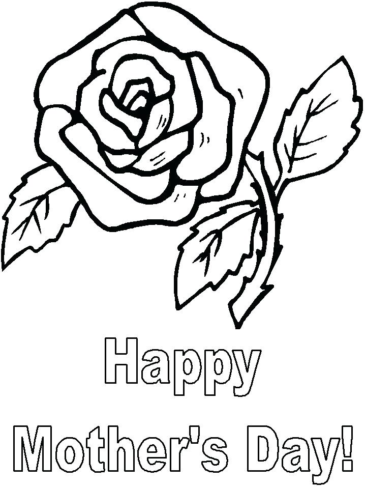 718x957 Mothers Day Coloring Book Pages Free Mothers Day Coloring Pages