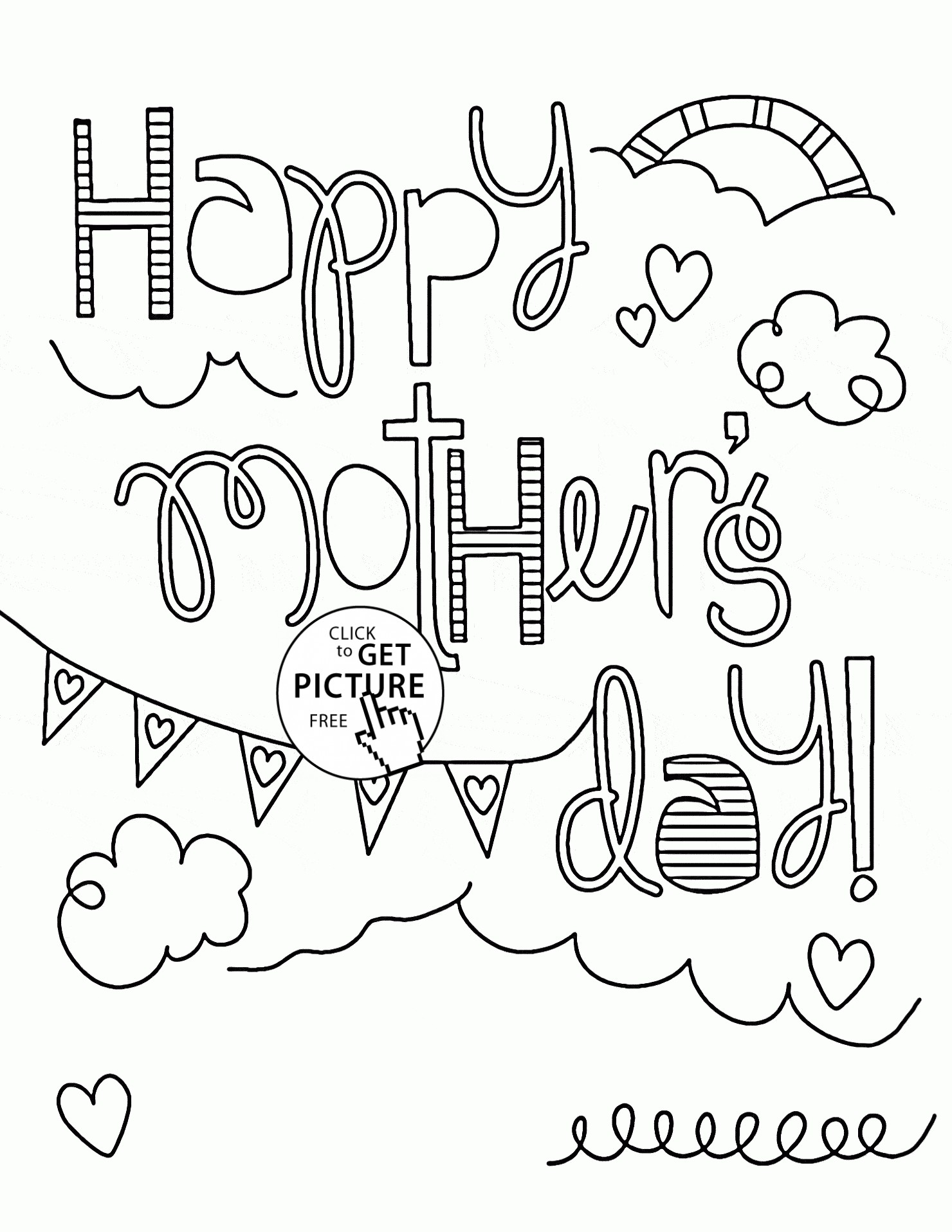 1480x1916 Mothers Day Coloring Day Pages Copy Free Printable Mothers Day