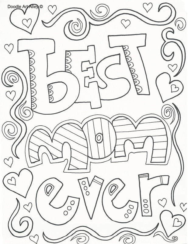 618x800 Mothers Day Coloring Pages