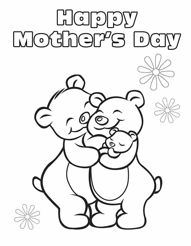 640x827 Top Free Printable Mother's Day Coloring Pages Online