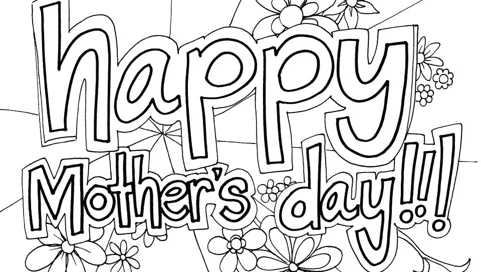 960x544 Preschool Free Coloring Pages On Mothers Day Jgheraghty Site