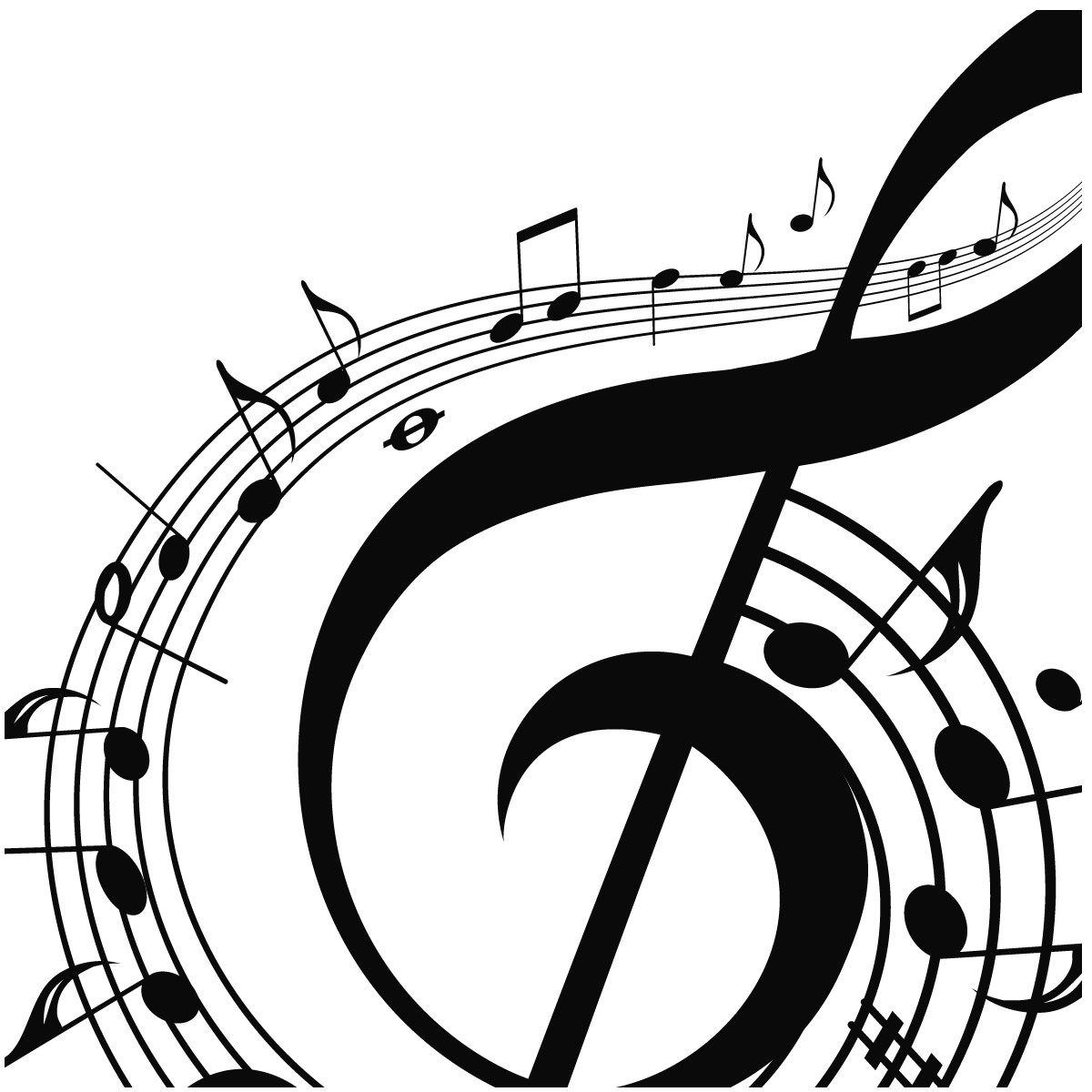 1200x1200 Free Printable Music Note Coloring Pages For Kids