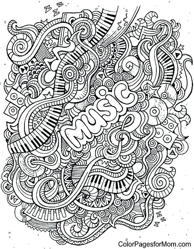 640x820 Free Printable Music Notes Coloring Pages Music Coloring Pages