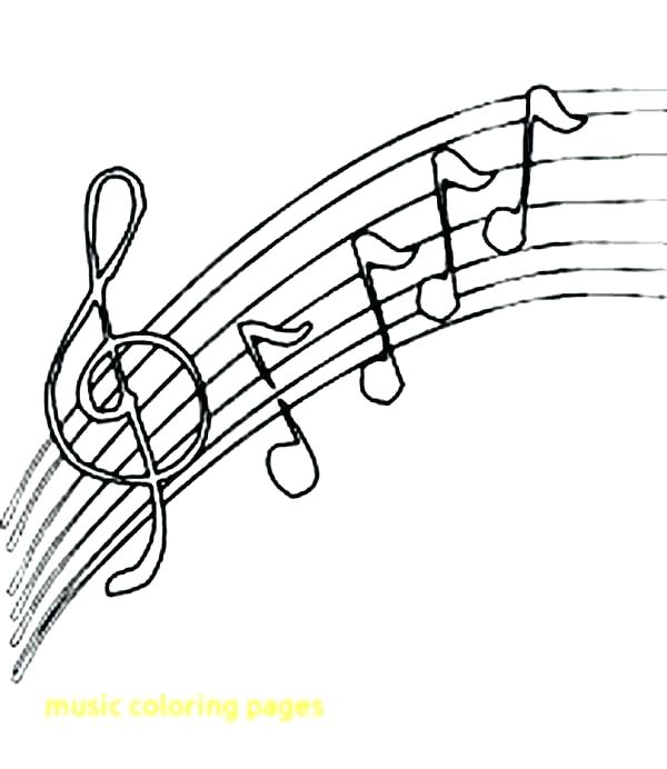 photograph about Music Notes Printable called Free of charge Printable New music Notes Coloring Internet pages at