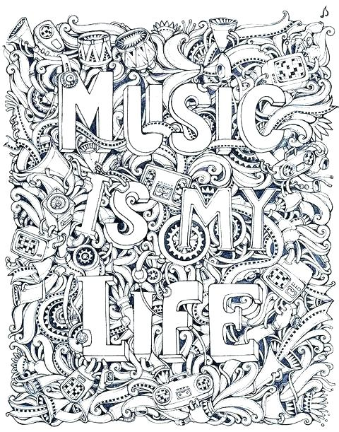 480x611 Music Coloring Pages Printable Music Coloring Pages For Kids