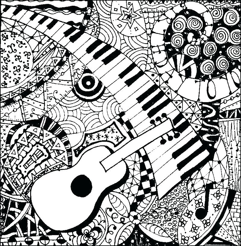 799x814 Music Coloring Pages Printable Music Coloring Pages Printable