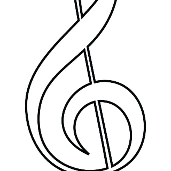 600x600 Music Notes Coloring Pages Free Printable Music Notes Coloring