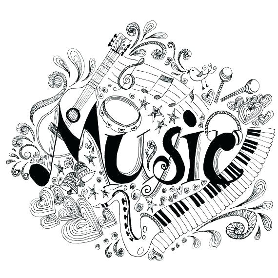 Free Printable Music Notes Coloring Pages At Getdrawings Com Free