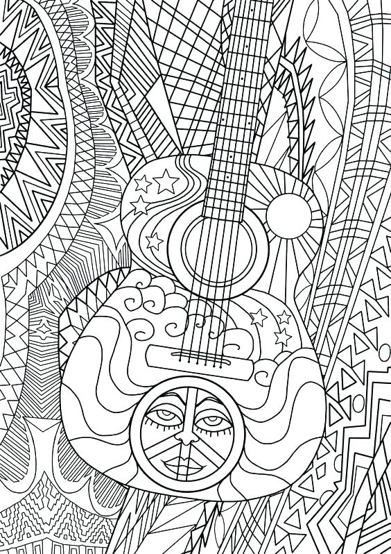 564x798 Free Music Coloring Pages Printable Plus Music Coloring Page Music
