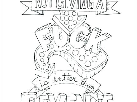 440x330 Coloring Page Maker Amazing Coloring Page Maker For Swear Word