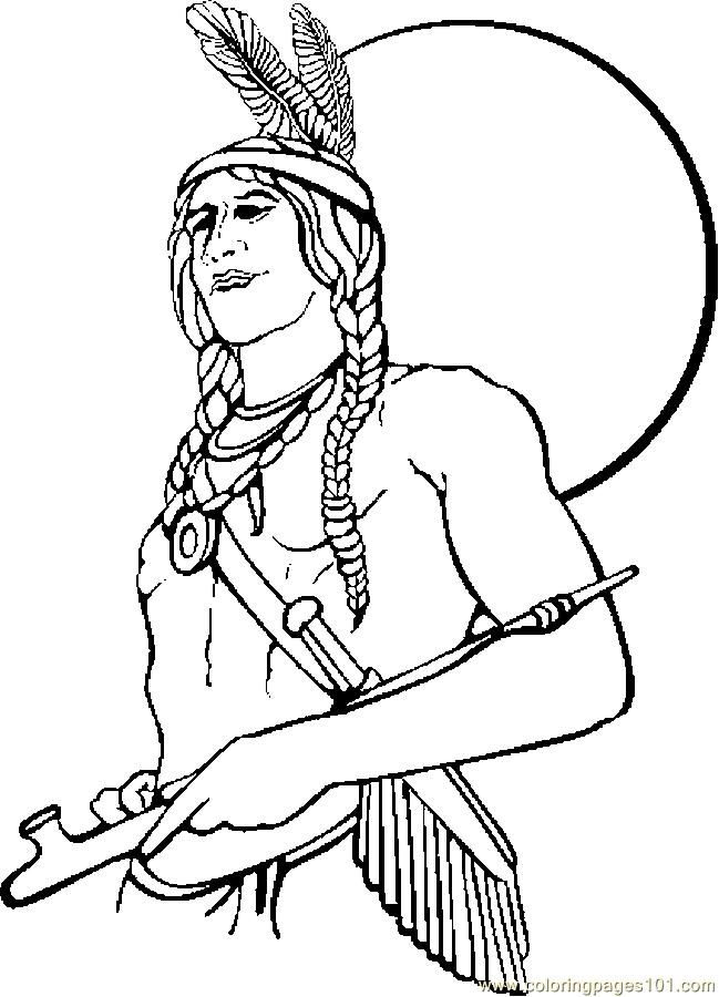 649x900 Native American Coloring Pages Printable Popular Native American