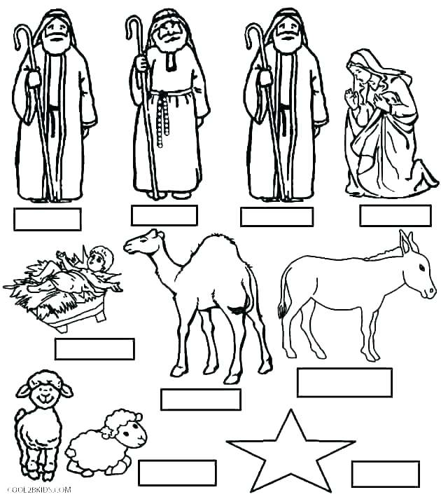 630x709 Nativity Color Page Nativity Coloring Pages Printable Nativity