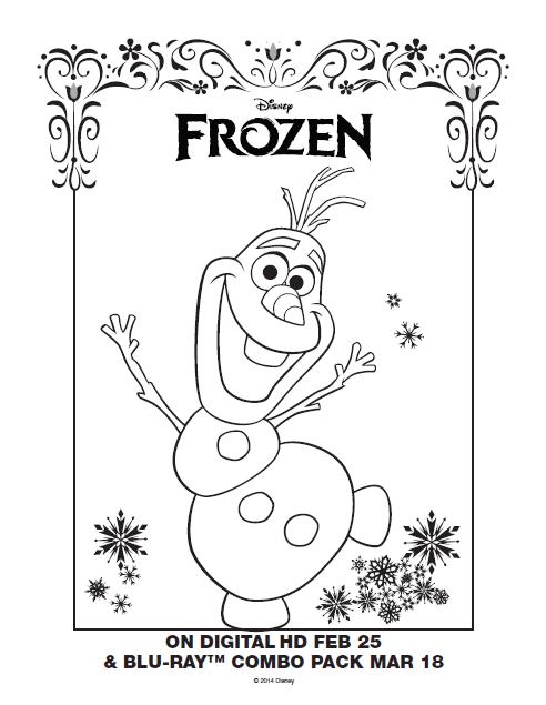 graphic about Printable Olaf titled Totally free Printable Olaf Coloring Internet pages at  Free of charge