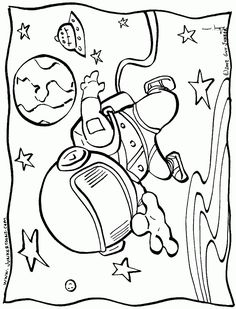 Free Printable Outer Space Coloring Pages At Getdrawings Com Free