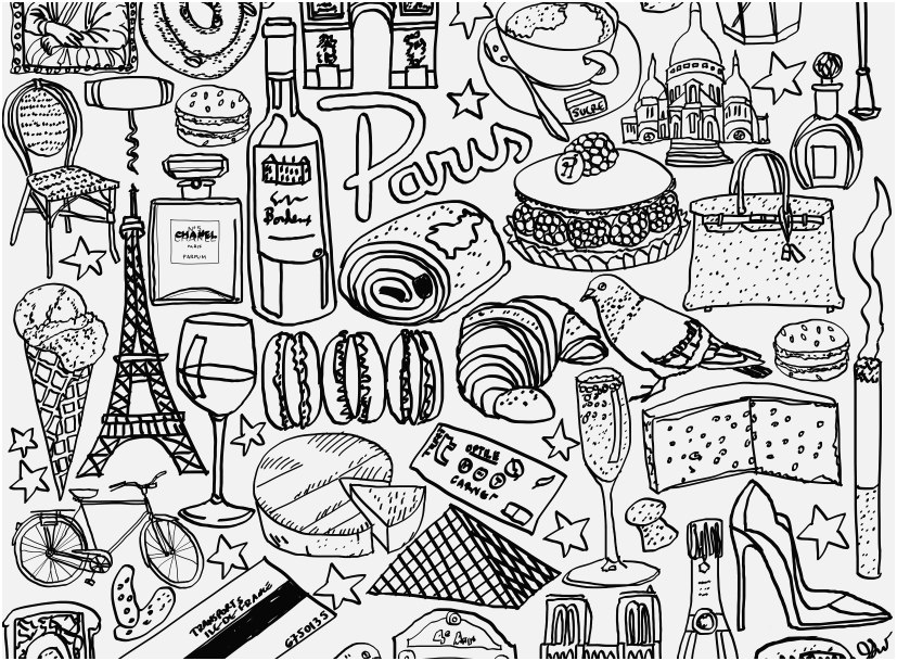 827x609 Eiffel Tower Coloring Pages View Eiffel Tower Coloring Printable