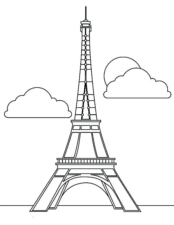 600x776 Paris Coloring Sheets Coloring Pages Paris France