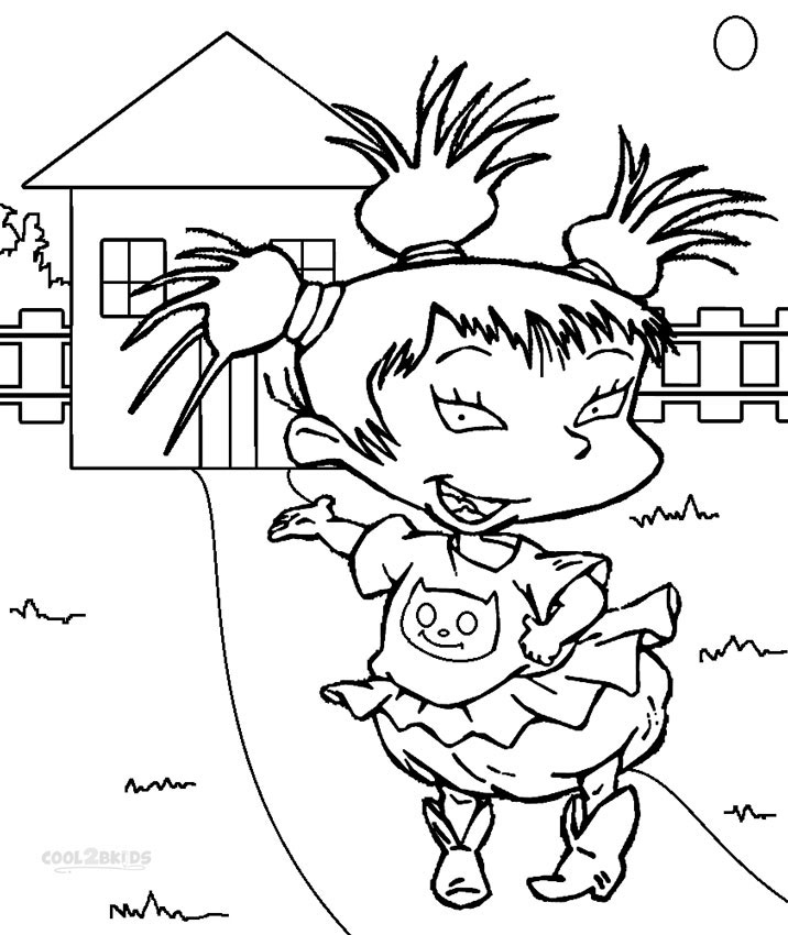 716x850 Printable Rugrats Coloring Pages For Kids