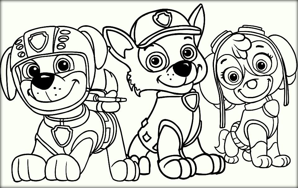 free printable paw patrol coloring pages at getdrawings