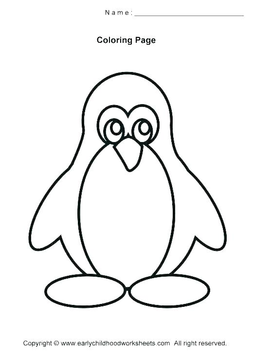 picture regarding Printable Pictures of Penguins named Free of charge Printable Penguin Coloring Web pages at