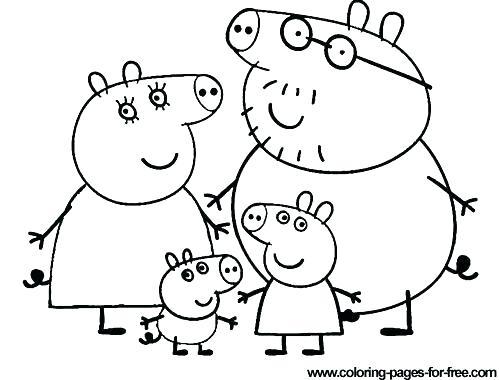 499x380 Peppa Pig Coloring Pages Printable Pdf Peppa Pig Printable
