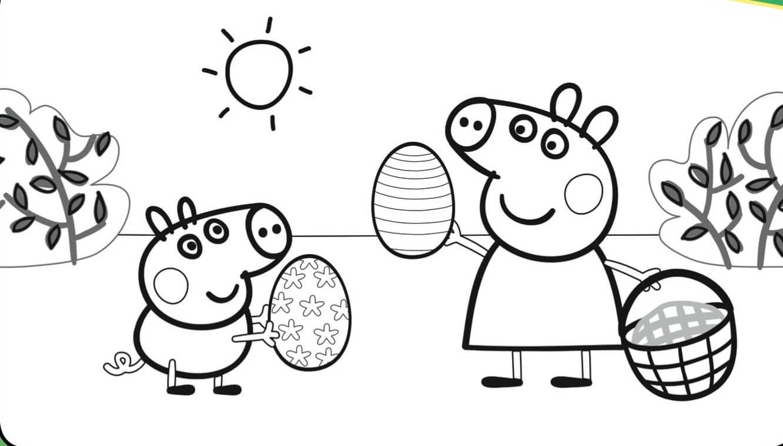 Free Printable Peppa Pig Coloring Pages at GetDrawings  Free download