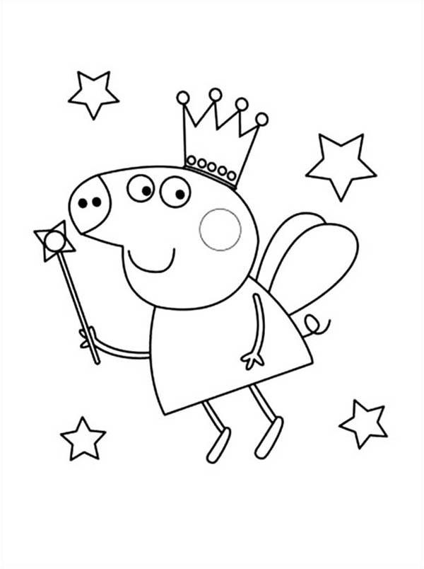 Free Printable Peppa Pig Coloring Pages At Getdrawingscom Free