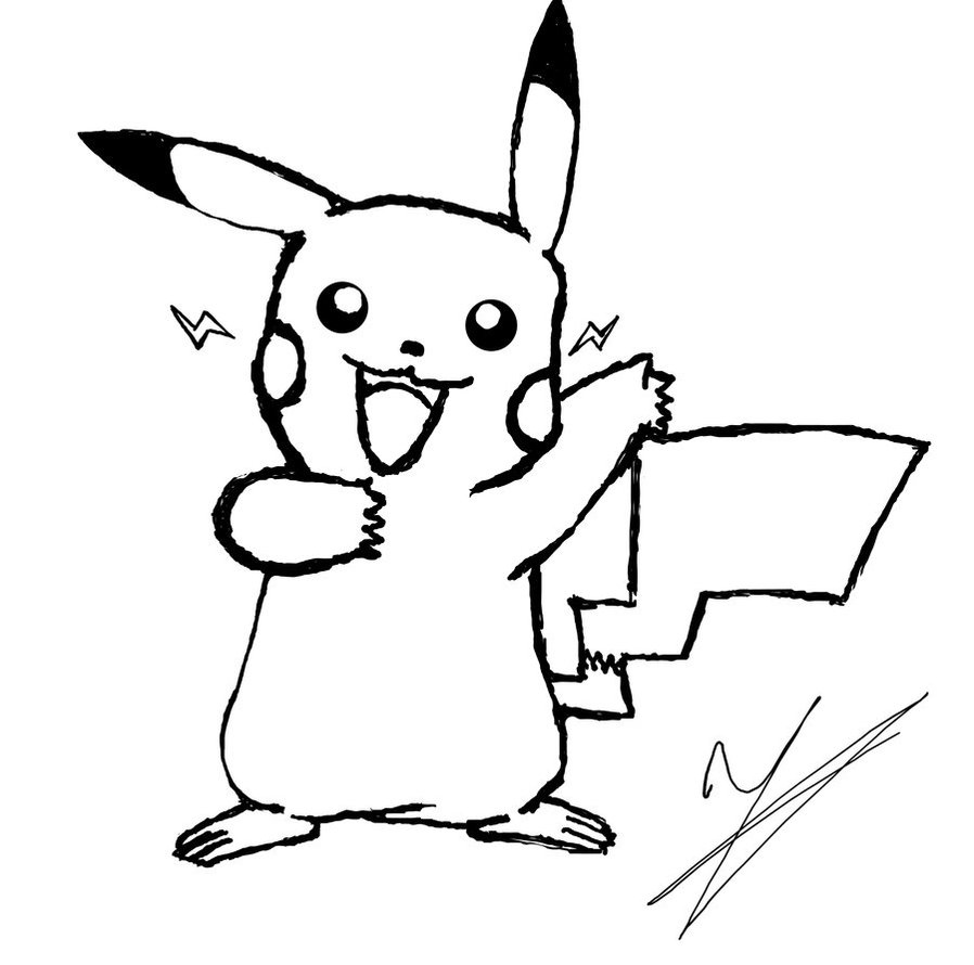 898x890 Free Printable Pikachu Coloring Pages For Kids Xmas Ideas, Xmas