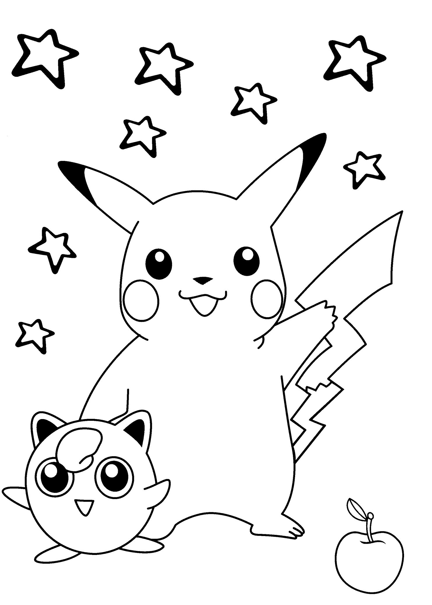 1483x2079 New Free Printable Pikachu Coloring Pages Collection Free