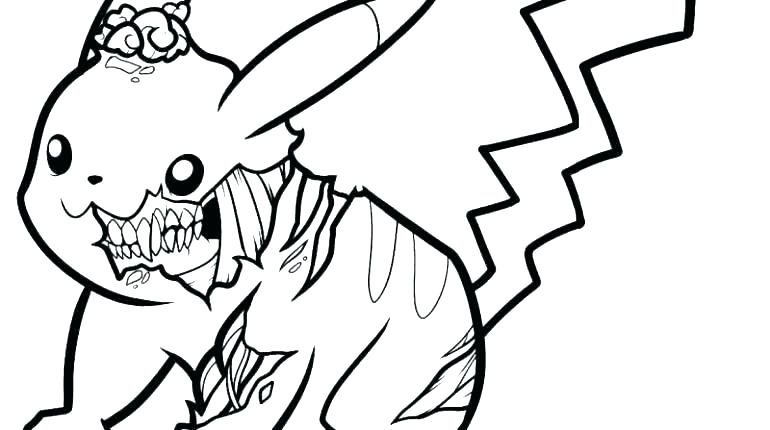 770x430 Pikachu Color Color Pages Coloring Pages Funny Free Printable