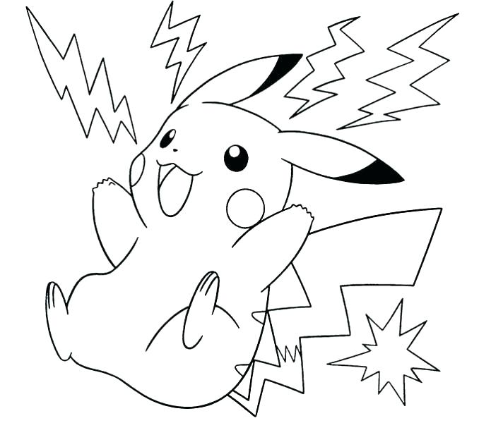 678x600 Pokemon Coloring Pages Pikachu Printable Coloring Sheets Coloring