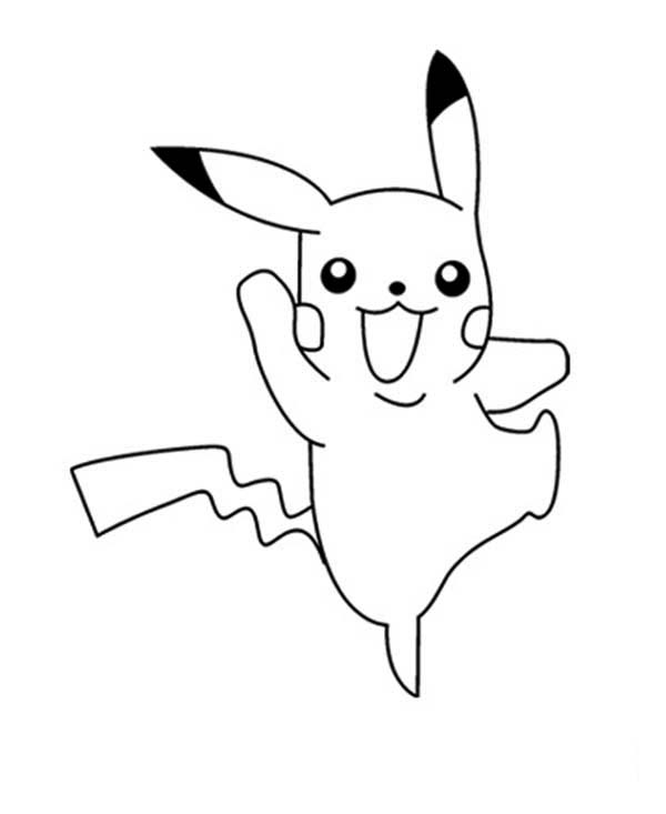 600x733 Printable Pikachu Coloring Pages Coloring Me