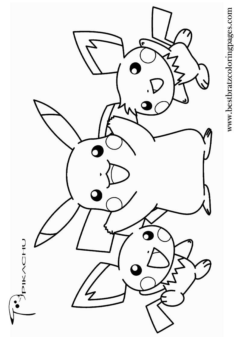 800x1120 Free Printable Pikachu Coloring Pages For Kids Coloring Pages