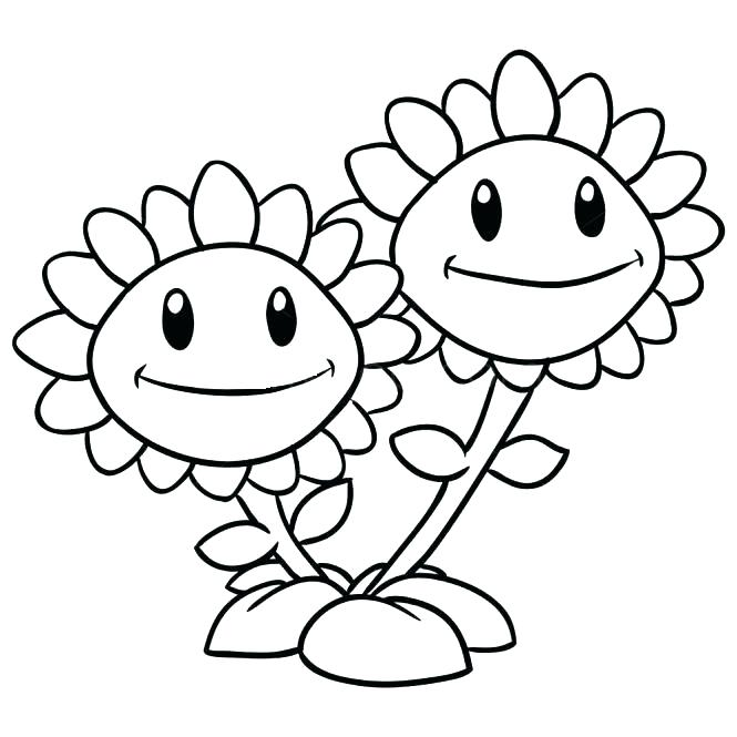 665x665 Free Coloring Pages Plants Vs Zombies Free Printable Zombie Free
