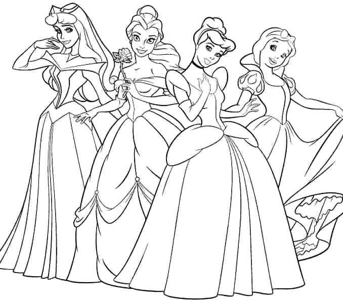 Free Printable Princess Coloring Pages at GetDrawings.com | Free for ...
