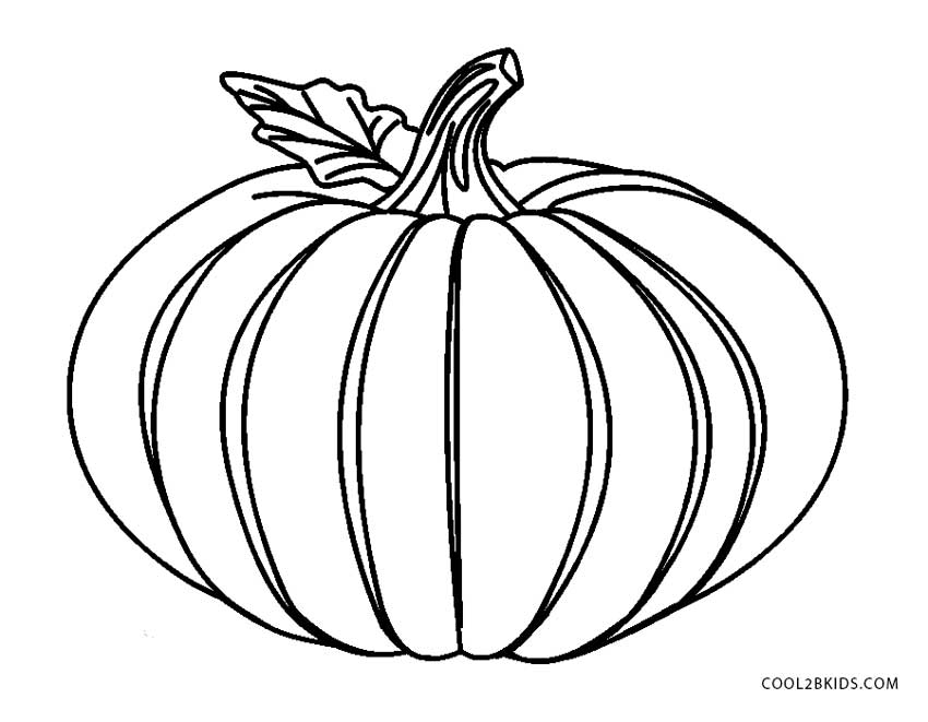 850x661 Free Printable Pumpkin Coloring Pages For Kids