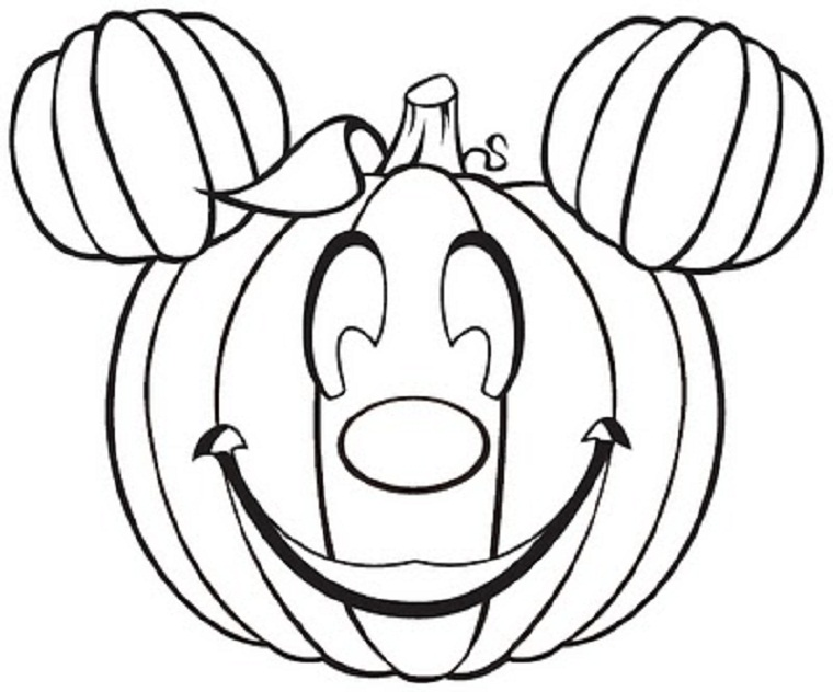 760x632 Free Printable Pumpkin Coloring Pages For Kids Printable