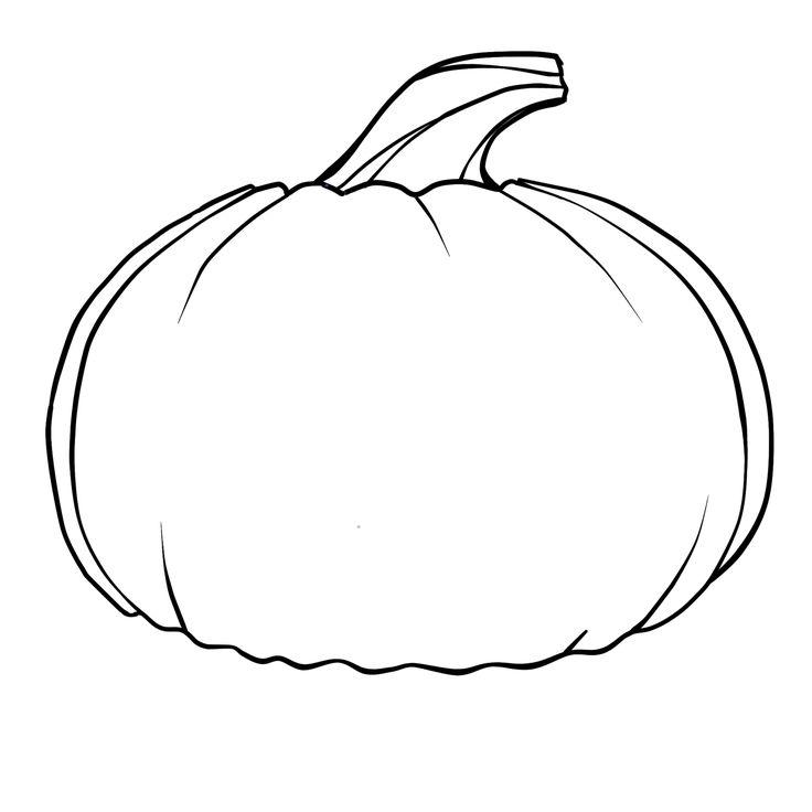 736x736 Free Printable Pumpkin Coloring Pages Best Pumpkin Coloring