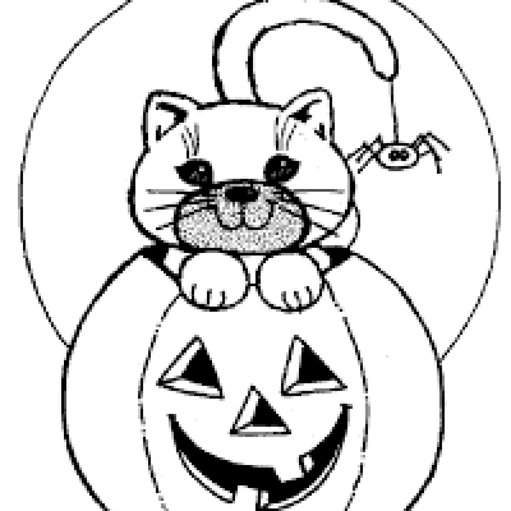 1024x1024 Halloween Pumpkin Coloring Pages