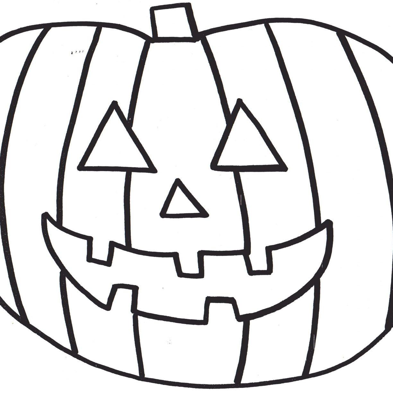 1224x1224 Pumpkins Coloring Pages For Preschool Free Printable Pumpkin Kids