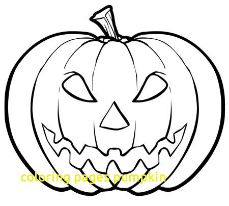 450x404 Coloring Pages Pumpkin With Coloring Pages A Pumpkin Free