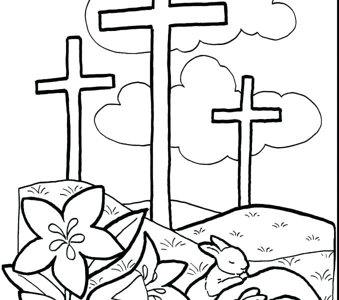 Printable Free Christian Easter Coloring Pages All Round Hobby