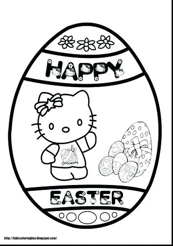 353x500 Religious Easter Coloring Pages
